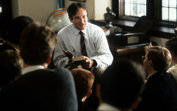 Robin Williams in Dead Poets Society (1989)