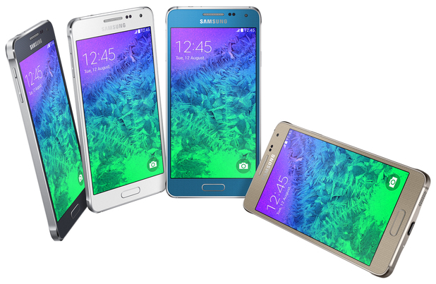 The Samsung Galaxy Alpha