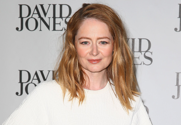 Miranda Otto arrives at the David Jones Spring/Summer 2014 Collection Launch