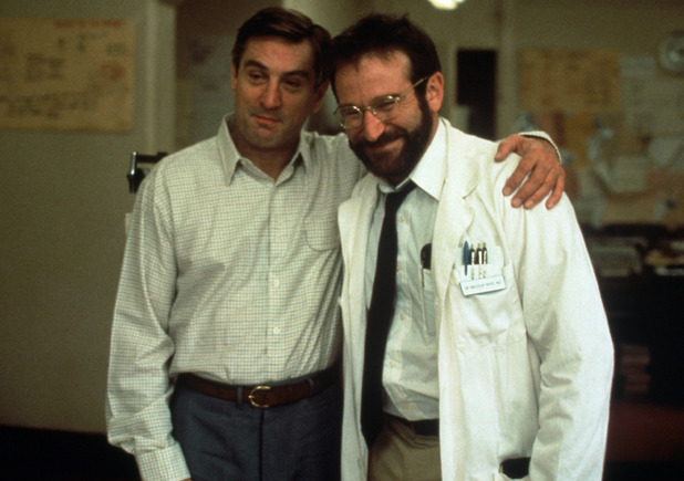 Robin Williams and Robert De Niro in Awakenings (1990)