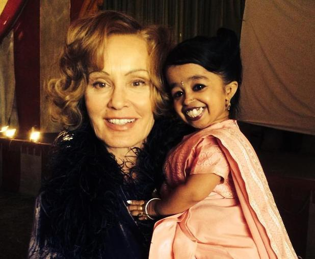 American Horror Story's Jessica Lange and Jyoti Amge