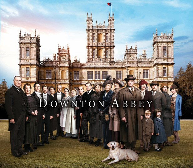 The Downton Abbey Series 5 cast