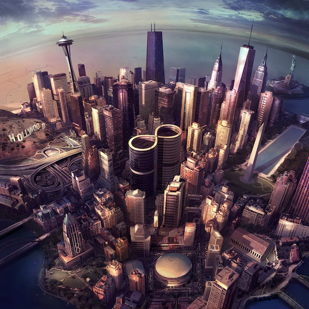 Foo Fighters album Sonic Highways artwork