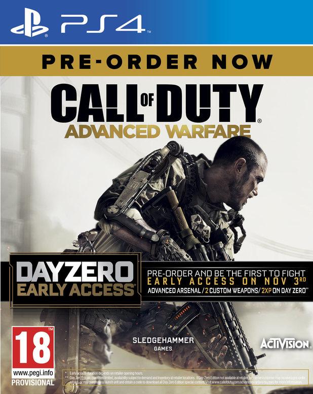 Call of Duty: Advanced Warfare Day Zero edition pack shot