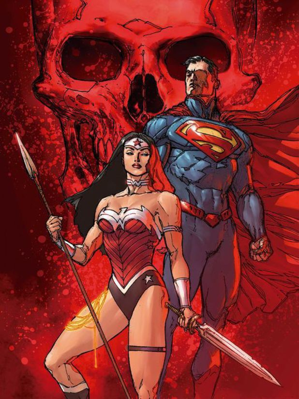 Doug Mahnke's Superman/Wonder Woman