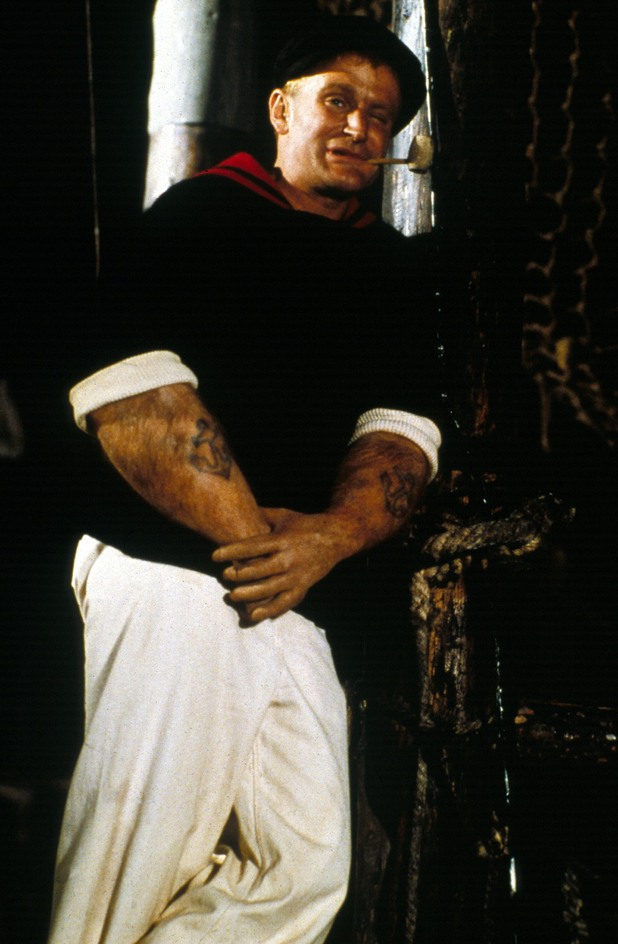 Robin Williams in Popeye (1980)