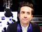 Nick Grimshaw graduates live on air