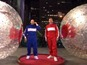 Watch Jason Statham race in hamster ball