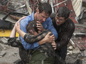 Is Richard Armitage's Twister on steroids disaster movie Into the Storm any good?