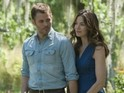 Best of Me stars James Marsden and Michelle Monaghan.