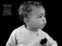 Kim Kardashian's daughter wears Chanel on the front cover of CR Fashion Book.