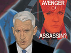 Anderson Cooper plays key role in Black Widow debut for Marvel Comics