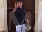 Watch Charlie Sheen's Ice Bucket Challenge - without the ice