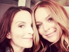 So Fetch: Mean Girls' Lindsay Lohan, Tina Fey reunite for selfie