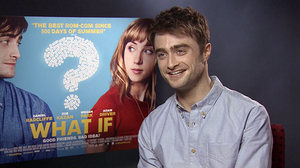 'What If' star Daniel Radcliffe chats to Digital Spy about never-saying-never to Harry Potter.