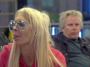 Frenchy and Gary Busey on Celebrity Big Brother