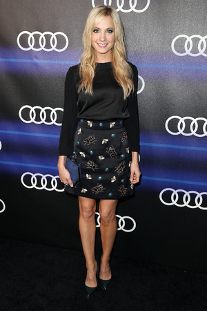 LOS ANGELES, CA - AUGUST 21: Actress Joanne Froggatt attends Audi Celebrates Emmys' Week 2014 at Cecconi's Restaurant on August 21, 2014 in Los Angeles, California. (Photo by Frederick M. Brown/Getty Images)
