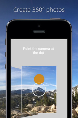 Google's Photo Sphere Camera app on iPhone