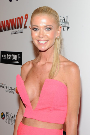 LOS ANGELES, CA - AUGUST 21: Actress Tara Reid attends the premiere of The Asylum & Fathom Events' 'Sharknado 2: The Second One' at Regal Cinemas L.A. Live on August 21, 2014 in Los Angeles, California. (Photo by Angela Weiss/Getty Images)