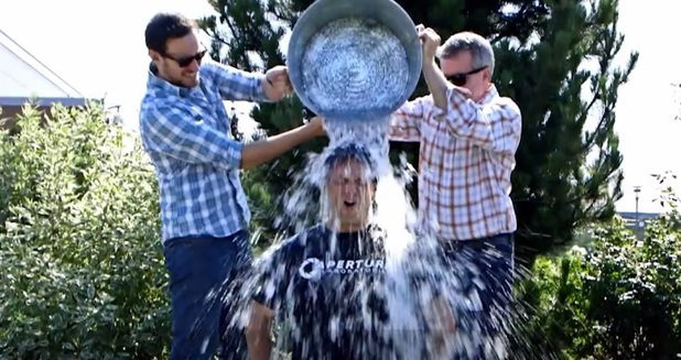 Xbox boss Phil Spencer takes part in the ALS Ice Bucket Challenge