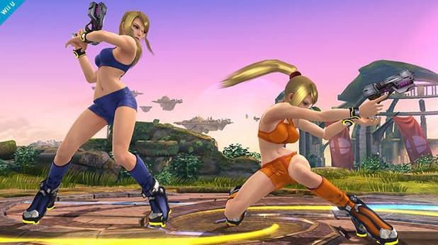 Zero Suit Samus alternative outfit for Smash Bros