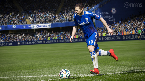 Eden Hazard in FIFA 15