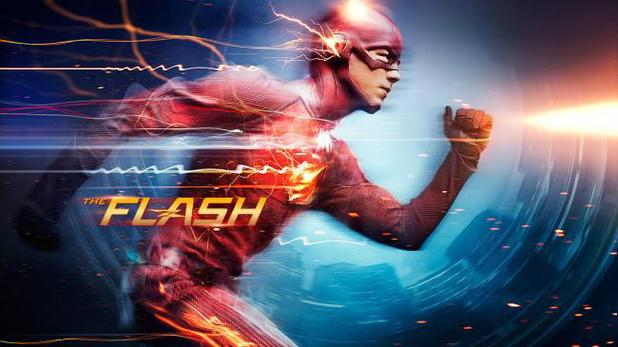 The Flash on Sky1