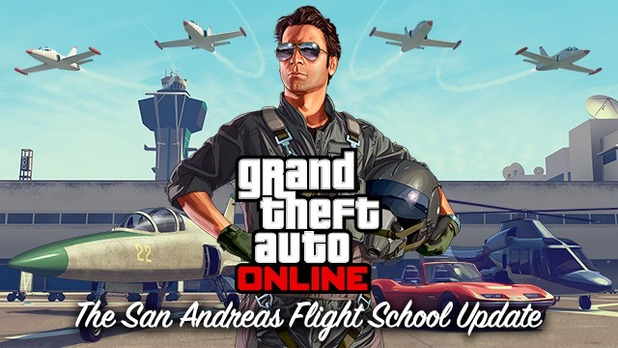 GTA Online flight school update