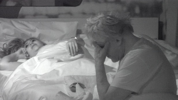 Gary Busey and Lauren Goodger on Celebrity Big Brother