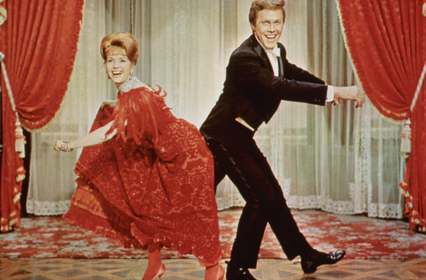 Debbie Reynolds Harve Presnell in The Unsinkable Molly Brown