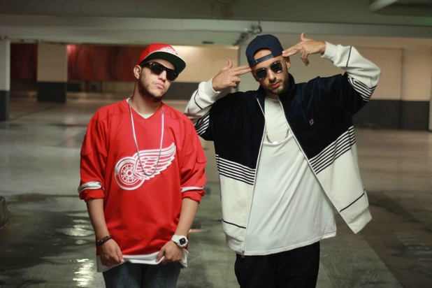 Amine Edge & DANCE - 2014 press picture