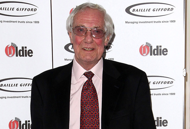 Barry Norman attends the 2012 Oldie of the Year Awards