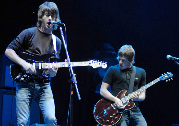 Arctic Monkeys performing at Reading Festival 2006