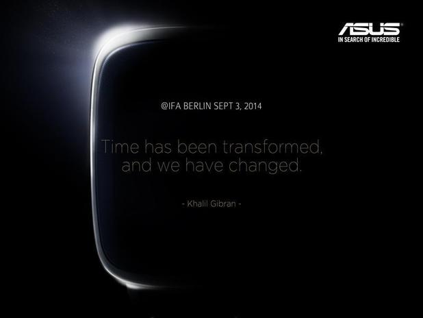 Asus teases launch of smartwatch