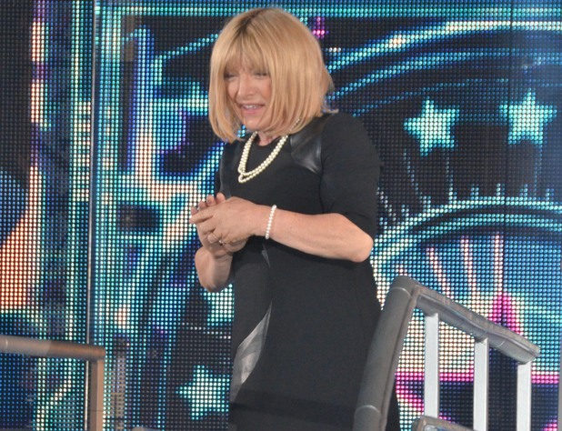 Kellie Maloney enters the Celebrity Big Brother house