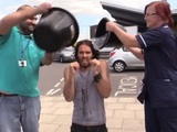 Russell Brand's ALS Ice Bucket Challenge