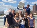 David Mazouz, Robin Lord Taylor and Camren Bicondova take ALS ice challenge.