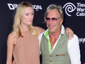 HOLLYWOOD, CA - AUGUST 19: Model Anastassija Makarenko (L) and actor Mickey Rourke attends Premiere of Dimension Films' 'Sin City: A Dame To Kill For' at TCL Chinese Theatre on August 19, 2014 in Hollywood, California. (Photo by Frazer Harrison/Getty Images)
