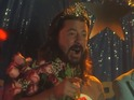 Dave Grohl dons a tiara in his ALS Ice Bucket Challenge video.