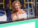 Gillian Taylforth makes her on-screen departure in Thursday's E4 episode.