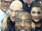 Star Trek: The Next Generation cast reunite for convention selfie