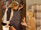 Charity tries to persuade her daughter Debbie to lie for her next week.
