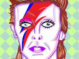 Fame: David - comic book biography of music icon David Bowie