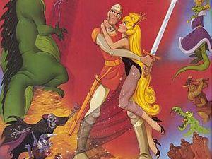 Dragon's Lair 1983 artwork