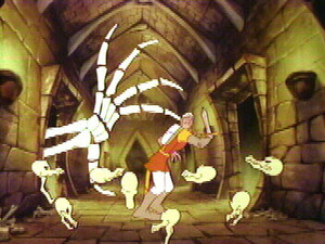Dragon's Lair 1983 screenshot