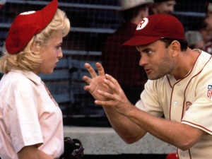 Bitty Schram, Tom Hanks in A League Of Their Own (1992)
