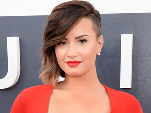 Demi Lovato at the MTV Video Music Awards 2014