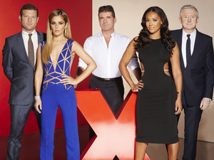 The X Factor: Judges and Dermot
