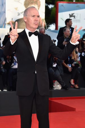 VENICE, ITALY - AUGUST 27: Michael Keaton attends the Opening Ceremony and 'Birdman' premiere during the 71st Venice Film Festival on August 27, 2014 in Venice, Italy. (Photo by Pascal Le Segretain/Getty Images)