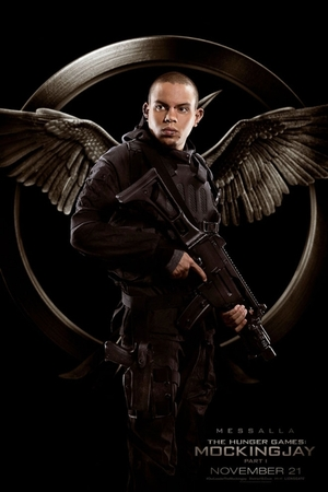 The Hunger Games: Mockingjay Part 1 Messalla poster